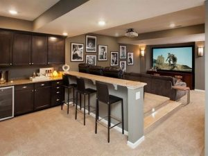 A Basement Can Be A Cold, Dark, Spooky Place With Concrete Floors And Lots  Of U201cunlivableu201d Or Unwelcoming Space. A Basement Remodel Transforms This  Area Of ...