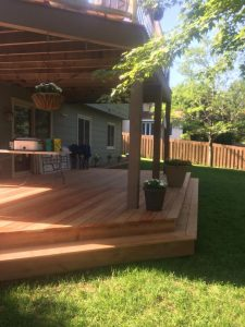Deck Staining - Exterior Home Improvement - St Paul - Twin City Handyman